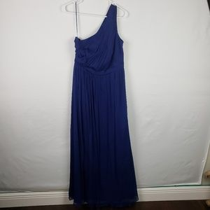 J Crew  Kylie Dress One Shoulder Long Gown #314